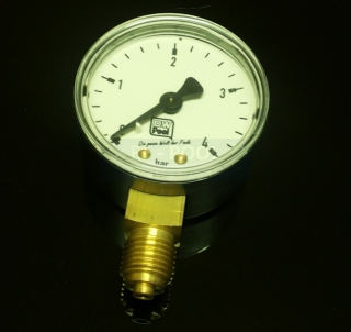 "MANOMETER K FILTRU DWS 1/4"" 0-4 bar."